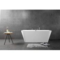 Ванна акриловая отдельностоящая BELBAGNO BB19-1500-750, BB19-1700-800 (2 размера)