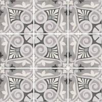 Плитка керамическая напольная 24418 ART NOUVEAU Opera Grey 20x20