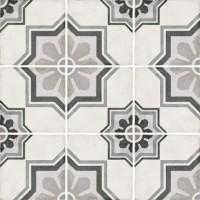 Плитка керамическая напольная 24413 ART NOUVEAU Capitol Grey 20x20