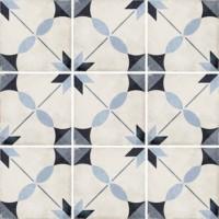 Плитка керамическая напольная 24411 ART NOUVEAU Arcade Blue 20x20