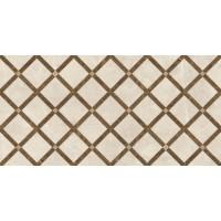 Декор керамический 262545 EMOTE DECORO INTRECCIO Crema/Marrone 39x78