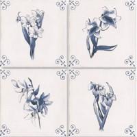 Декор керамический ESTILANTIC GARDEN 15x15 (варианты)
