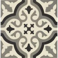 Декор керамический напольный FLORENTINE CENTRO White 20x20
