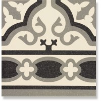 Бордюр керамический напольный линейный FLORENTINE CENEFA White 20x20