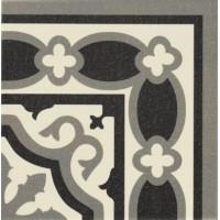 Декор керамический напольный угловой FLORENTINE ESQUINA White 20x20