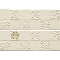 Декор керамический настенный 68852 GOLD DECORI ACQUA/DAMA DECORATO Crema/Oro 25x75