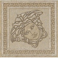 Вставка керамическая 261156 GREEK TOZZETTO Beige/Oro 4x4