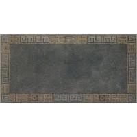 Декор керамический 261343 GREEK CASSETTONE Antracite/Oro 40x80