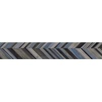 Гранит керамический 58610 JUST COLOR DECORI CHEVROM MIX Cold 20x120