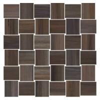 Мозаика керамическая 60007211 OPUS MOSAICO INTRECCIO Noce (5x5) 30x30