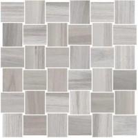 Мозаика керамическая 60007231 OPUS MOSAICO INTRECCIO Grigio (5x5) 30x30