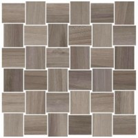 Мозаика керамическая 60007221 OPUS MOSAICO INTRECCIO Cenere (5x5) 30x30
