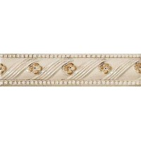 Бордюр керамический G91129 RIALTO PAINTED FLOREALE LISTELLO FLOR. 3.5x15