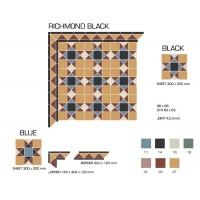 Гранит керамический RICHMOND Black Stand. 30x30