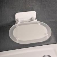 Сиденье для душевой кабины Chrome - белый