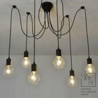 Потолочный светильник Loft-black LOFT1162/6
