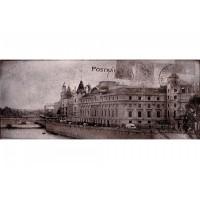 Postcard grey 2 20x50