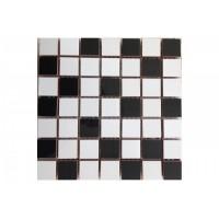 Michelle mix white/black 20x20
