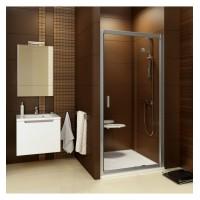 BLDP2-100 Душевая дверь , стекло Transparent,  профиль хром