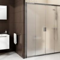 BLDP4-120 Душевая дверь , стекло Transparent, профиль хром